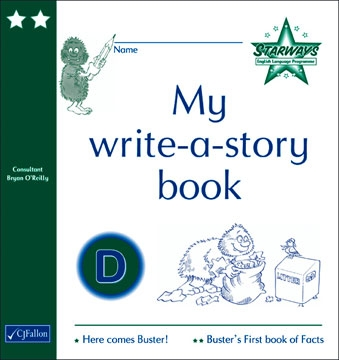 My write-a-story book D