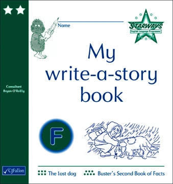 My write-a-story book F
