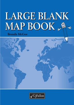 Large Blank Mapbook – New Edition