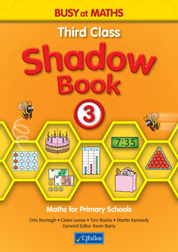 Busy at Maths 3 - Third Class Shadow Book