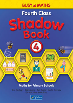 Busy at Maths 4 - Fourth Class Shadow Book
