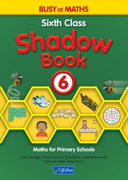 Busy at Maths 6 - Sixth Class Shadow Book