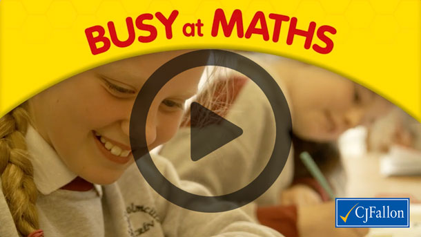 Busy at Maths | Book Categories | CJ Fallon