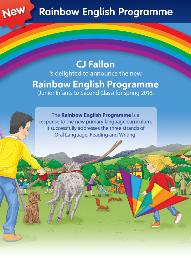 Rainbow Stages 1 2 Book Categories Cj Fallon